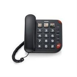 Brondi BRAVO 15 Teléfono analógico Negro Identificador de llamadas 10273471
