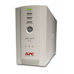 APC Back- UPS Em espera (Offline) 500 VA 300 W 4 tomada(s) CA BK500EI