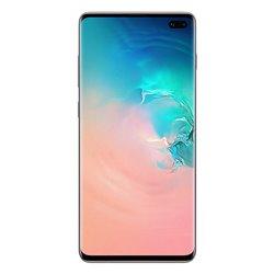Samsung Galaxy S10+ SM-G975F/DS 16.3 cm (6.4) 8 GB 512 GB Hybrid Dual SIM White 4100 mAh SM-G975FCWGITV