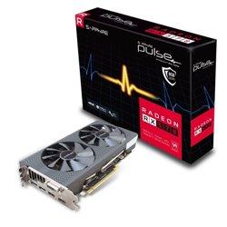 SAPPHIRE VGA PULSE RADEON RX 570 8G GDDR5 DUAL HDMI / DUAL DP OC W/BP (UEFI)