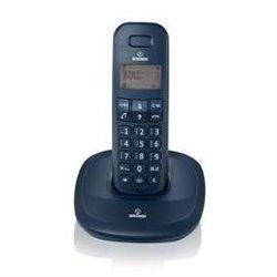 BRONDI TELEFONO CORDLESS GALA NERO SVEGLIA 300M PORTATA 10273720