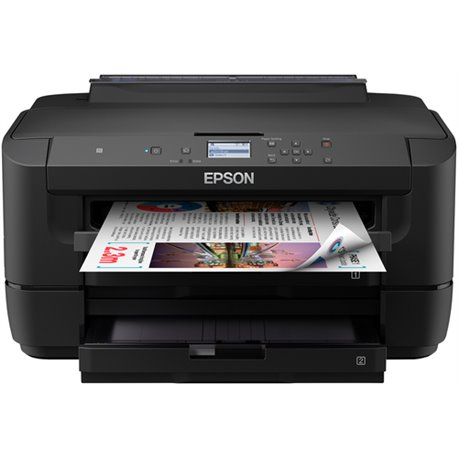 EPSON STAMP. INK WF-7210DTW A3 4800X2400DPI 32PPM USB/ETHERNET/WIFI, 2 CASSETTI CARTA C11CG38402