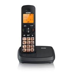 Brondi Bravo Rich Téléphone DECT Noir Identification de l'appelant 10273830