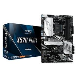 ASROCK MB AMD X570 PRO4 4DDR4 2PCI-E 4.0 M2 HDMI ATX