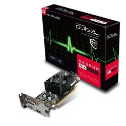 SAPPHIRE VGA PULSE RADEON RX 550 4G GDDR5 HDMI / DVI-I / DP LP OC (UEFI)