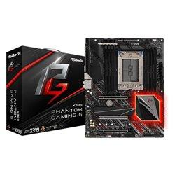 Asrock X399 Phantom Gaming 6 placa mãe Socket TR4 ATX AMD X399 X399 PHANTOM GAM 6