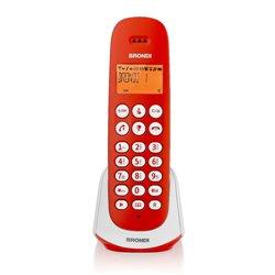 Brondi Adara Téléphone DECT Rouge, Blanc Identification de l'appelant 10273845