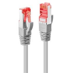 Lindy RJ-45/RJ-45 Cat.6 2m networking cable Cat6 S/FTP (S-STP) Grey 47704