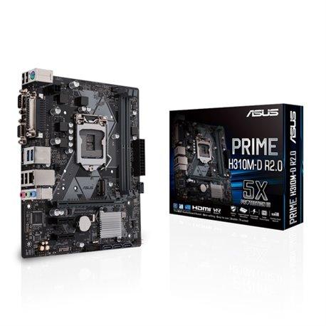 ASUS MB PRIME H310M-D R2.0 MATX LGA1151 HDMI/VGA