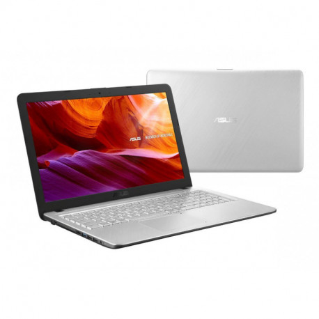 ASUS X543UA-GQ2577T Silver Notebook 39.6 cm (15.6) 1366 x 768 pixels 7th gen Intel® Core™ i3 4 GB 1000 GB HDD Windows 10 Home