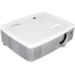 OPTOMA VIDEOPROIETTORE W400+4000LUMEN, 22000:1, 10.000H- 2X HDMI, MHL, 2X VGA, COMPOSITE