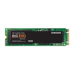 SAMSUNG SSD 860 EVO M.2 2280 250GB 2,5 SATA3 MJX CONTROLLER V-NAND MLC 550/520 MB/S R/W MZ-N6E250BW