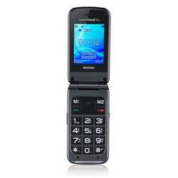 """Brondi Amico Grande 2 LCD 6,1 cm (2.4"""") Titanio Característica del teléfono 10274010"""