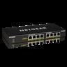 Netgear GS308PP No administrado Gigabit Ethernet (10/100/1000) Negro Energía sobre Ethernet (PoE) GS308PP-100EUS