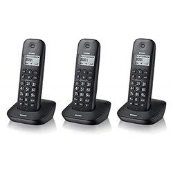 Brondi Gala Trio Téléphone DECT Noir Identification de l'appelant 10274090