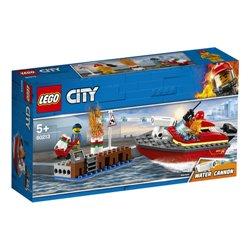LEGO 60213 L'incendie sur le quai