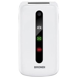 "Brondi President 7.62 cm (3"") 130 g White Feature phone 10275071"