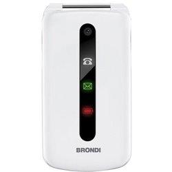 Brondi President 7,62 cm (3 Zoll) 130 g Weiß Funktionstelefon 10275071