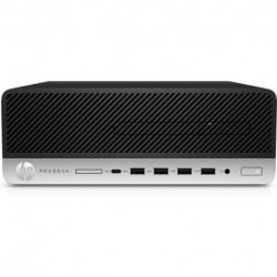 HP ProDesk 405 G4 AMD Ryzen 5 PRO 2400G 8 GB DDR4-SDRAM 256 GB SSD Negro SFF PC 9DP09EA