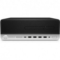 HP ProDesk 405 G4 AMD Ryzen 5 PRO 2400G 8 GB DDR4-SDRAM 256 GB SSD Nero SFF PC 9DP09EA