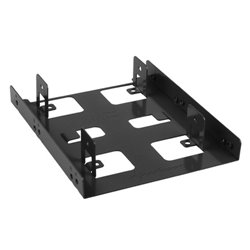 """SHARKOON BAYEXTENSION BLACK 3.5 SSD MOUNTING FRAME FOR 2 SSDS"""""""