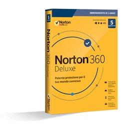 Symantec Norton 360 Deluxe 2020 Full license 5 license(s) 1 year(s) 21397535