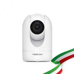 FOSCAM R4M IP CAMERA MOTORIZZATA 4 MEGAPIXEL, 1080P, H.264, WI-FI+CAVO, 112 GRADI DIAGONALE, COMPATIBILE CON ALEXA