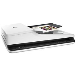 HP Scanjet Pro 2500 f1 1200 x 1200 DPI Scanner de mesa e ADF Preto, Branco A4 L2747A
