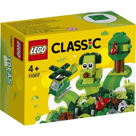 LEGO CLASSIC: MATTONCINI VERDI CREATIVI