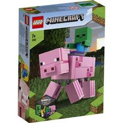 LEGO MINECRAFT: MAXI-FIGURE MAIALE E BABY ZOMBI