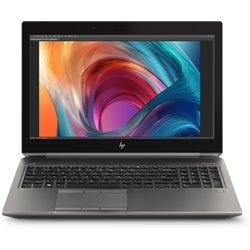 HP ZBook 15 G6 Silver Mobile workstation 39.6 cm (15.6) 1920 x 1080 pixels 9th gen Intel® Core™ i7 32 GB DDR4-SDRAM 512 6TU88ET